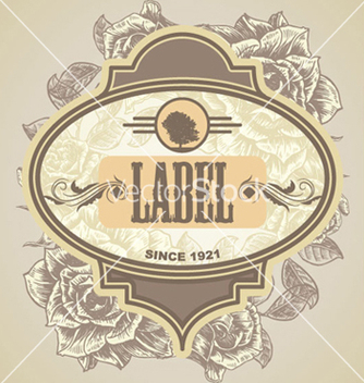 Free vintage label vector - бесплатный vector #265695