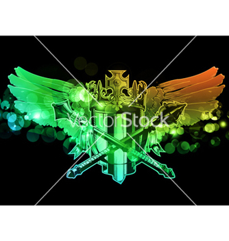 Free colorful emblem vector - Free vector #265805