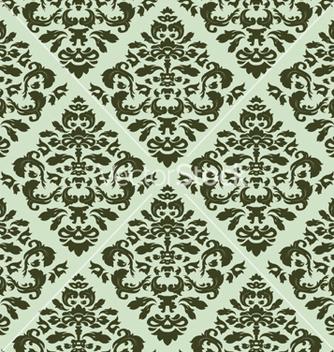 Free seamless baroque pattern vector - vector gratuit #265865