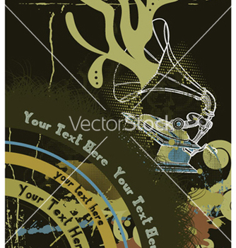 Free vintage music poster vector - vector #266065 gratis
