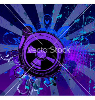 Free music background vector - Free vector #266595