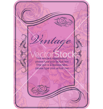 Free vintage label vector - бесплатный vector #266605