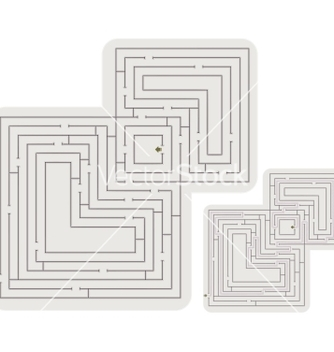 Free abstract maze vector - бесплатный vector #266635