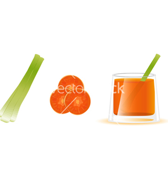 Free carrot juice vector - бесплатный vector #266645