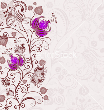 Free gentle floral easter frame vector - Free vector #266855