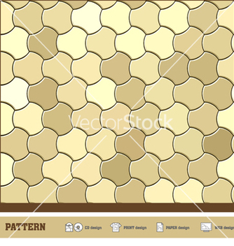 Free pattern wallpaper gold vector - Kostenloses vector #267065