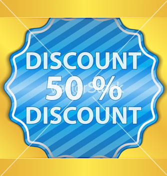 Free discount sticker vector - vector gratuit #267135