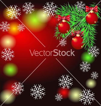 Free christmas background vector - Kostenloses vector #267155
