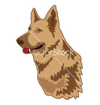 Free german shepherd vector - Free vector #267295