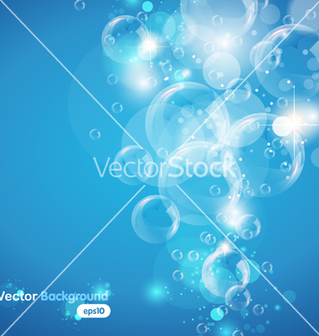 Free underwater bubble vector - Free vector #267355