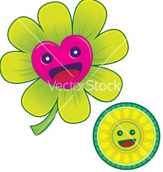 Free love flower vector - vector gratuit #267705