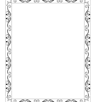 Free filigree border vector - vector gratuit #267735
