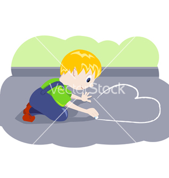 Free cartoon boy vector - Kostenloses vector #268075