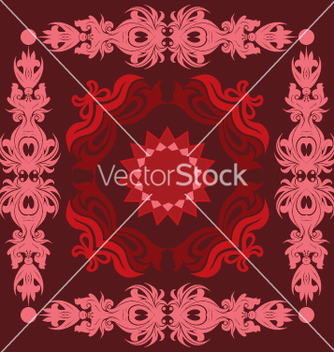 Free floral seamless background vector - Kostenloses vector #268115