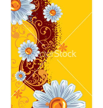 Free floral background vector - Free vector #268135