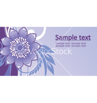 Free floral background vector - Kostenloses vector #268225