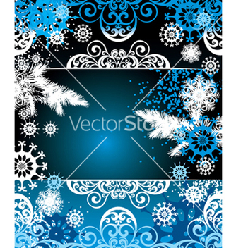 Free christmas frame vector - Free vector #268325