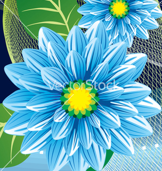 Free floral background vector - Free vector #268385