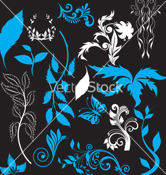 Free nature elements vector - Free vector #268525