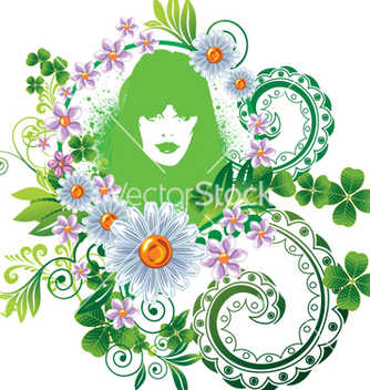 Free mother nature vector - vector gratuit #268675