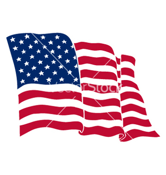 Free american flag vector - Free vector #268725