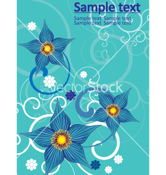 Free floral background vector - Kostenloses vector #269095