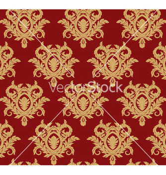 Free damask floral background vector - Free vector #269125