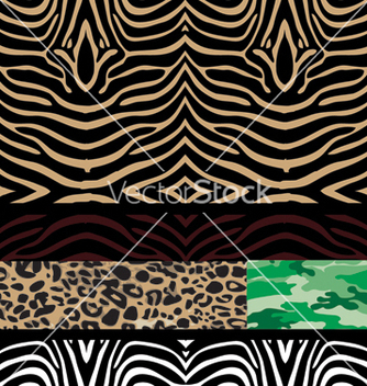Free wild patters vector - Free vector #269235