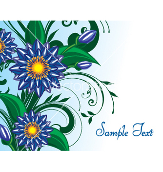 Free floral page vector - Free vector #269255