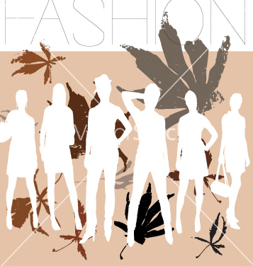 Free autumn fashion vector - Free vector #269265