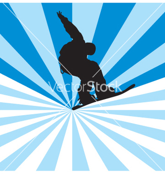 Free snowboarder vector - Free vector #269345