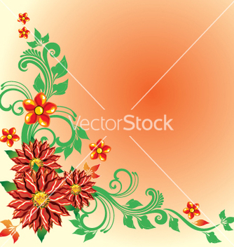 Free floral vector - Free vector #269395