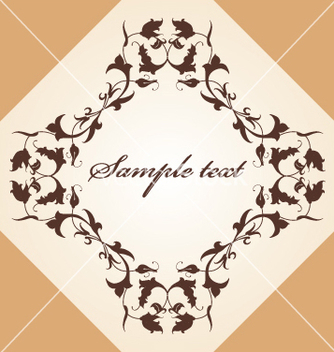 Free floral border vector - Free vector #269445