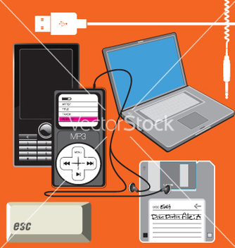 Free technology vector - vector gratuit #269515