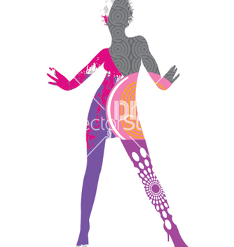 Free funky dancer vector - бесплатный vector #269625