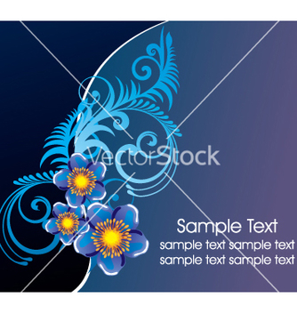 Free floral background vector - Free vector #269655
