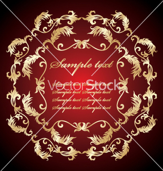 Free floral border vector - Free vector #269665