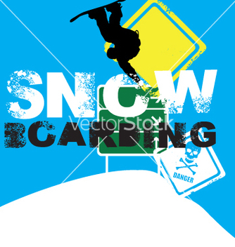 Free snowboarder signs vector - Free vector #269685