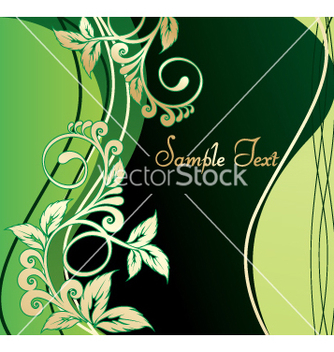 Free floral background vector - Free vector #269745