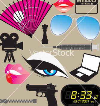 Free hollywood vector - Kostenloses vector #269785