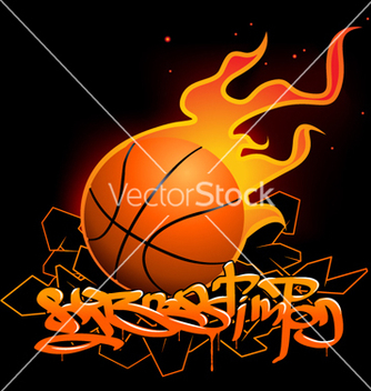 Free basketball vector - бесплатный vector #269905