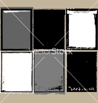 Free grunge film elements vector - Free vector #269945