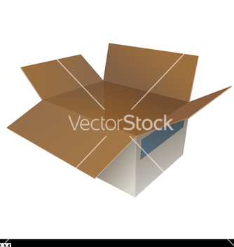 Free open box vector - vector gratuit #270015