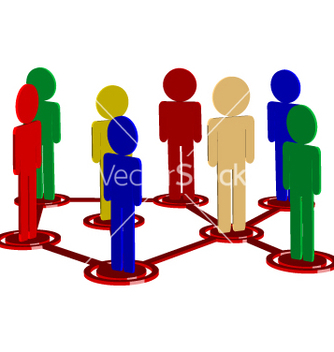 Free human connections vector - бесплатный vector #270145