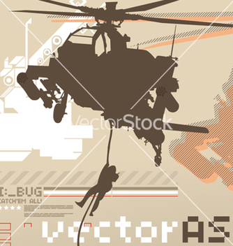 Free assault chopper vector - Free vector #270225