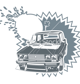 Free tuning lada car vector - бесплатный vector #270245