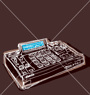 Free mpc drum machine vector - vector #270305 gratis