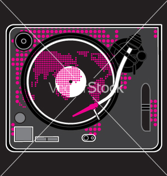 Free turntable vector - бесплатный vector #270675