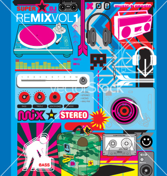 Free remix vector - Free vector #270715
