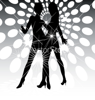 Free dance floor lights vector - Kostenloses vector #270755